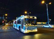 В Краснодаре пустят дополнительные дежурные троллейбусы № 13
