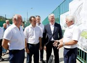 Павел Колобков и Вениамин Кондратьев осмотрели спортивные объекты в Краснодаре