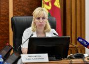 Анна Минькова провела селекторное совещание с медиками и главами районов