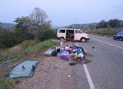 На Кубани ребенок погиб в опрокинувшемся микроавтобусе
