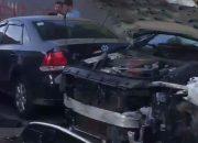В Краснодаре произошло ДТП с участием четырех автомобилей