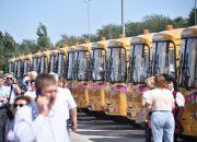 На Кубани выделили 129,5 млн рублей на закупку новых автобусов для школьников