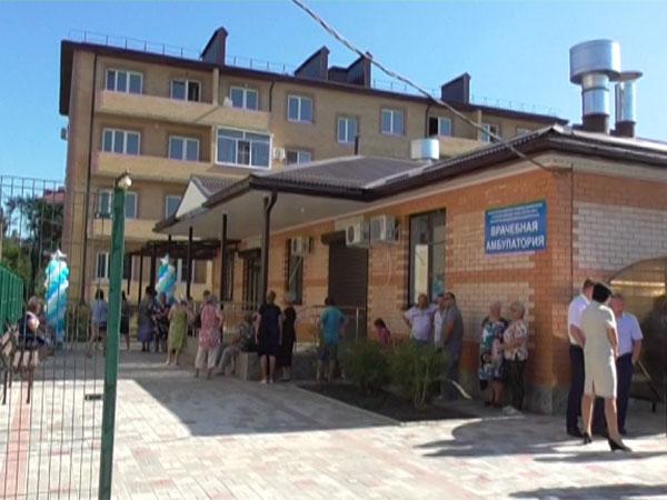Новый медпункт в Горячем Ключе будет обслуживать 6 тыс. пациентов
