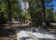 Работы по благоустройству Гагаринского бульвара в Краснодаре выполнили на 55%