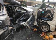 В Сочи в ДТП с микроавтобусом пострадали два человека