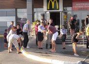 В Анапе в ресторане фастфуда во время драки распылили газовый баллончик