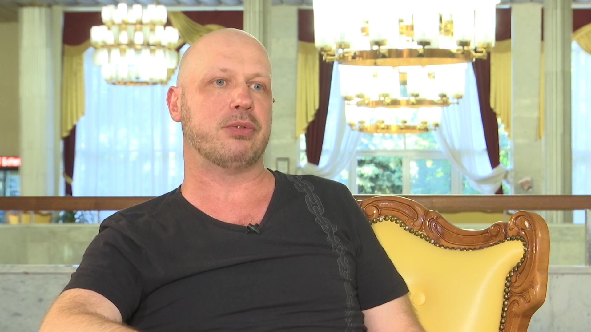 Солист театра «Рок-оперы» Вячеслав Ногин: о жулике и актерской многогранности