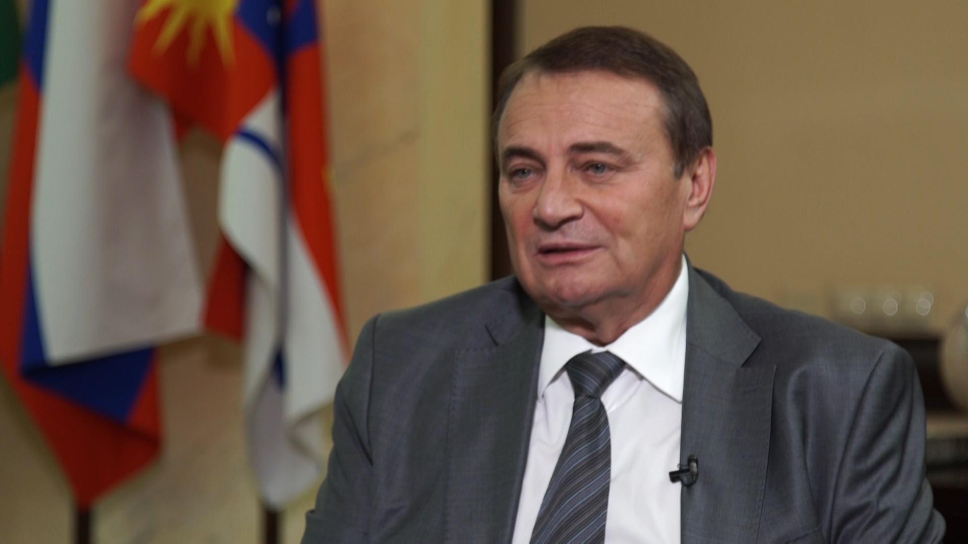 Интервью с главой города Сочи Анатолием Пахомовым