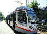 В Краснодаре на линию вышел новый трамвай. Фото