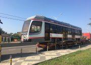 В Краснодар прибыли еще два новых трамвая