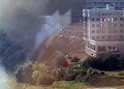 В Краснодаре потушили пожар на стройплощадке в районе Тургеневского моста