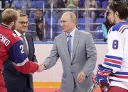 Путин поприветствовал в Сочи участников Кубка мира по хоккею