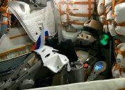 Робот Федор поздравил россиян с Днем флага из космоса