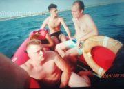 В Анапе спасатели помогли туристам, которых уносило в море на катамаране