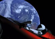 Космический электрокар Tesla Roadster впервые облетел Солнце