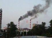 На краснодарской ТЭЦ из труб пошел черный дым