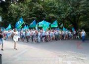 В Краснодаре десантники устроили шествие в День ВДВ