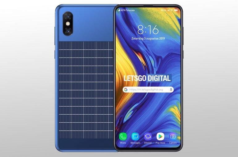 смартфон с солнечной батареей