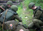 На Кубани военные медики эвакуировали условно раненных военнослужащих