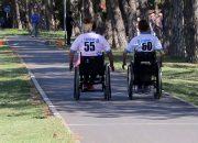 В Анапе прошла эстафета для инвалидов-колясочников