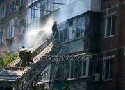 В Армавире произошел пожар на балконе жилой пятиэтажки
