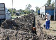 В Кореновском районе приступили к прокладке водопровода