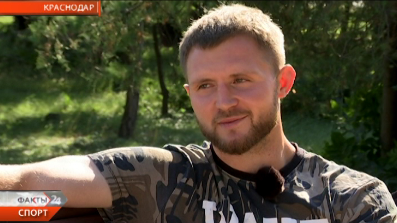 «Факты. Спорт». Герой недели. Игрок РК «Кубань» Александр Семейкин
