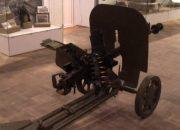 В музее Кропоткина появился новый экспонат — ручной пулемет Дегтярева-Шпагина