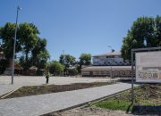 В краснодарском сквере «Садовый» появится площадка для волейбола и баскетбола