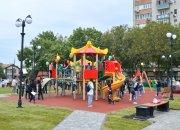 В Краснодаре на месте снесенных гаражей открыли сквер «Садовый»