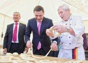 В Краснодаре стартовали фестиваль цветов и марафон еды «Вкусы нашего города»