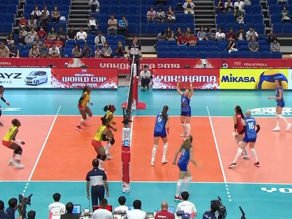 Женская сборная России по волейболу сразится с командой США