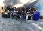 В Темрюкском районе изъяли 2 тонны токсичного алкоголя
