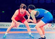 Представительницы Кубани впервые завоевали медаль ЧМ по борьбе среди женщин