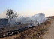 В Темрюкском районе после пожара на ферме 39 человек остались без жилья