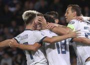Сборная России по футболу одержала волевую победу над Шотландией