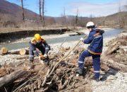 Районам Кубани выделят 100 млн рублей на расчистку русел рек