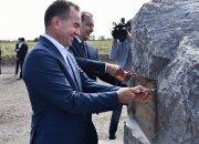 Кондратьев посетил стройплощадку центра «Патриот» в Динском районе