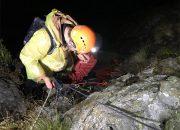 В Сочи спасатели сняли с горы двух туристов