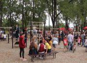 В Тбилисском районе обновили парк Победы