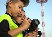 В аэропорту Анапы устроили день детского споттинга