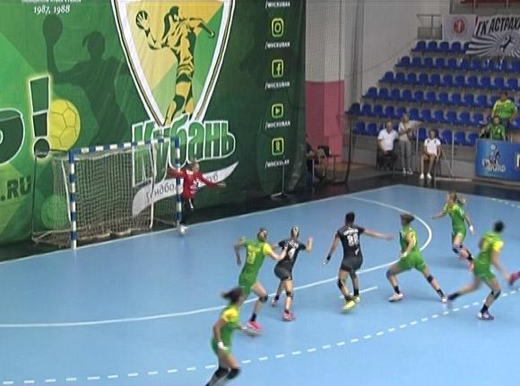 Как гандболистки «Кубани» дома сыграли с «Астраханочкой»