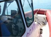 На Кубани туриста на матрасе унесло ветром в море