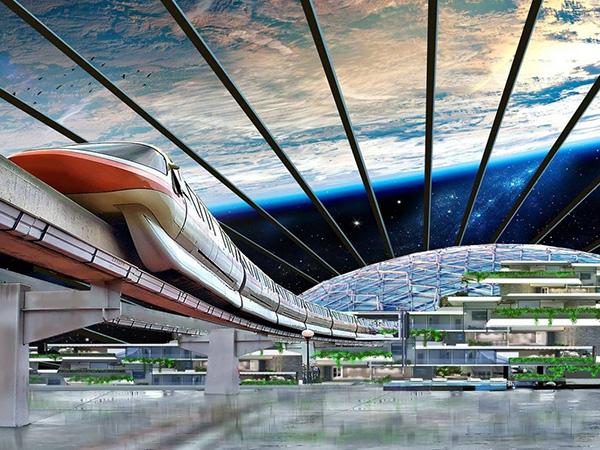 Эксцентричный миллиардер из России планирует построить космический «сад богов»