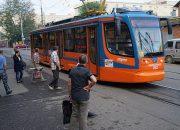 В Краснодаре в трамвае умер мужчина-кондуктор