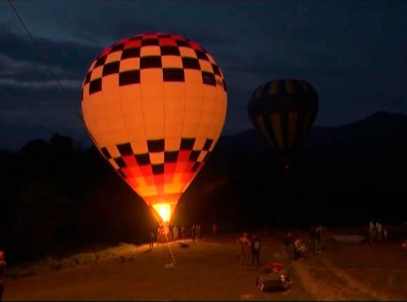 Жителей и гостей Сочи пригласили полюбоваться горами с высоты воздушного шара