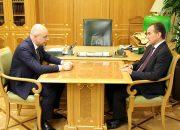 Силуанов и Кондратьев обсудили реализацию нацпроектов на Кубани