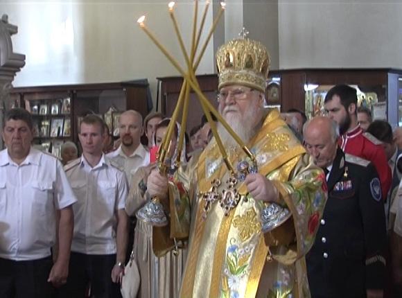 В Краснодаре прошел престольный праздник собора Александра Невского
