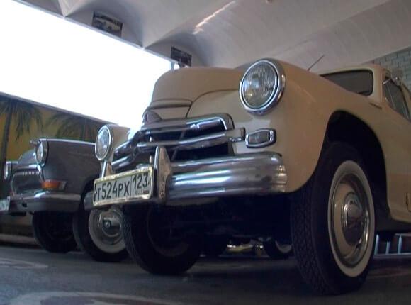В Динском районе мужчина отреставрировал советский автомобиль «Победа»