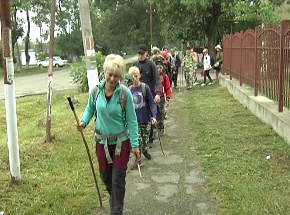 Дети с ДЦП из Северского района совершили марш-бросок